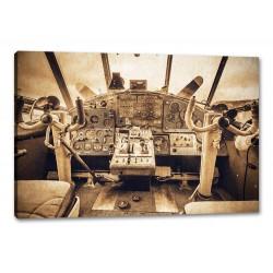 Tablou Canvas Interior Avion